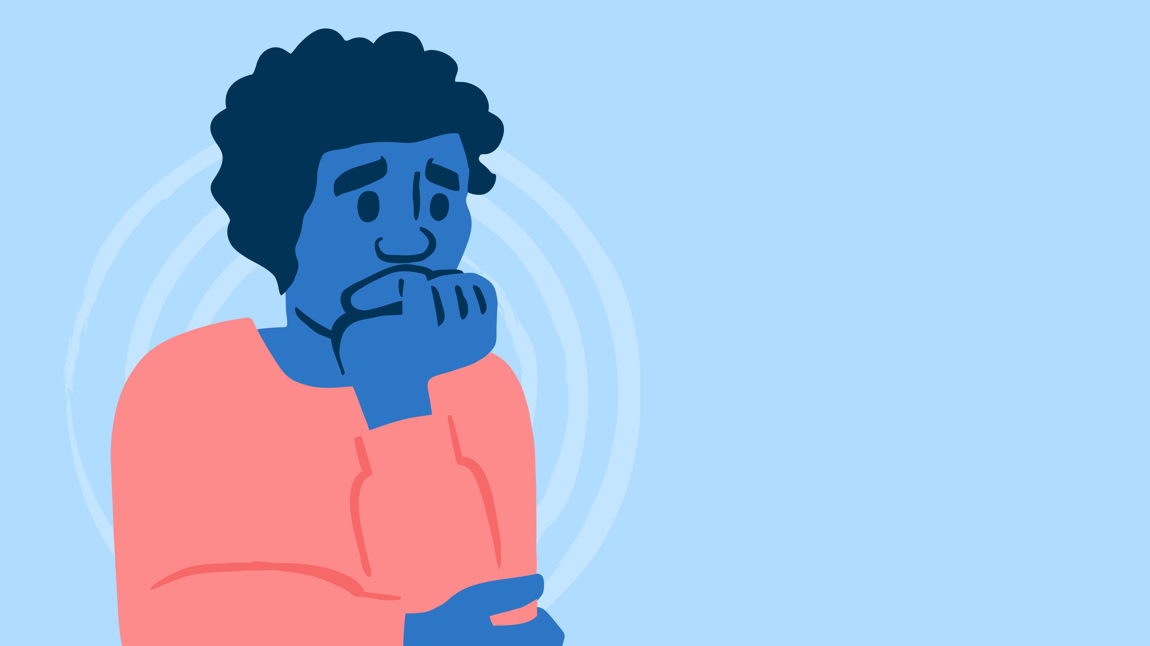 an anxious creator